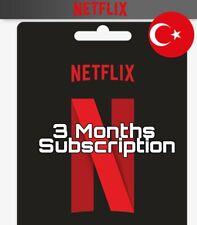Netflix - 3 Mensualidades Suscripcion (Leer Descripción)