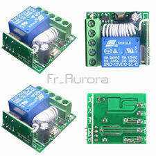 DC 12V 10A 1 Channel CH 433MHZ Wireless Relay RF Remote Control Switch Receiver
