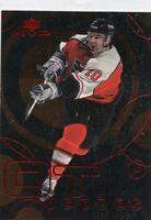 JOHN LECLAIR 1998-99  Upper Deck MVP OT Heroes #OT14 Philadelphia Flyers