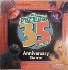 Sesame Street 35th Anniversary Game NEW