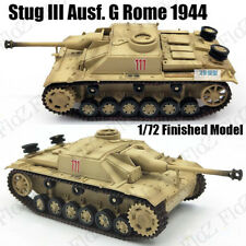 WWII Stug III Ausf. G Rome 1944 1:72 assault gun tank easy model finished