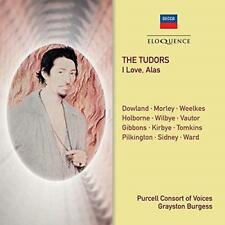 Purcell Consort Of Voices - The Tudors - I Love, Alas (NEW CD)
