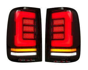 *LED* ALTEZZA PERFORMANCE TAIL LIGHT LAMPS TINTED for VOLKSWAGEN AMAROK 2H 2011-