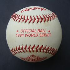 1994   RAWLINGS OFFICIAL  World Series Baseball