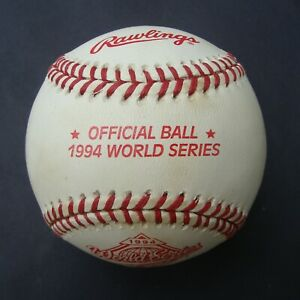 1994   RAWLINGS OFFICIAL  World Series Baseball