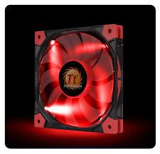 Thermaltake LUNA SLIM 140mm RED LED  CL-F036-PL14RE-A CASE FAN [f33]