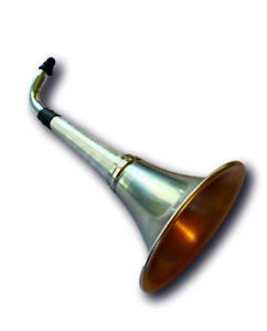 Ear Trumpet Horn For the Over The Hill Gang. All Metal - Say What?