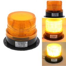 Emergency Flash Strobe Rotating Round 30 LED Beacon Warning Light-Amber