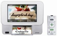 Epson Colorio Me Compact Printer E-600 7.0-Inch Tft Color Lcd Digital Photo Fram