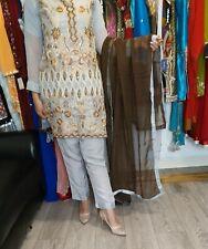 Pakistani Indian Salwar Kameez Churidar Saree Lengha Garara Readymade...
