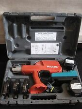 Ridgid Propress 100B Hydraulic Battery Operated Crimper 14v & 3 JAWS