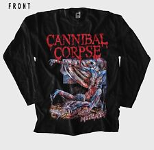 CANNIBAL CORPSE-Tomb of the Mutilated, BLACK T-shirt LONG SLEEVE-size:S to 5XL