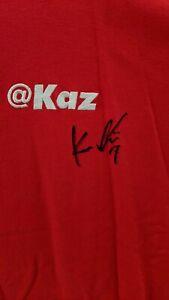 Dodgers Kazuhisa Ishii   personally worn Signed Authentic  Adidas Shirt