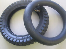 Razor Electric Dirt Bike Tire 12.5 x 2.75 w/ L Shape Valve Inner Tube (Qing Da)