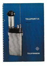Service Manual-Anleitung für Telefunken Teleport 4