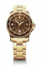 Victorinox Maverick Small (241614) Women's Stainless Steel Wristwatch in Gold