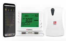 Smart Wi-Fi 7-Day Programmable Thermostat Heating Adjustment Control Unit