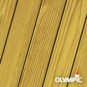 Olympic Maximum 4 gal. Honey Gold Exterior Stain and Sealant in One Toner
