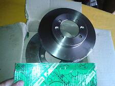 2 Disques de freins avant non ventilés pour R9 renault 9 1.1 1.4  7700677045