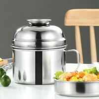 304 Stainless Steel Lunch Box 2 Layers Leak-Proof Food Container Dinnerware Chic