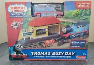 "Thomas & Friends TrackMaster ""Thomas Busy Day"" Starter Set New Sealed"