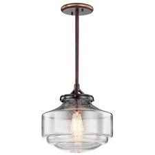 Kichler Lighting - 43563 - Keller - One Light Pendant (shadow brass)