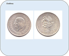 5 PESOS  DE PLATA AÑO 1952  ESTADOS UNIDOS MEXICANOS     ( MB11370 )