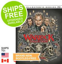 Warlock 1 - 3 Film Collection (DVD, 2017 Slipcover) Armageddon, End of Innocence
