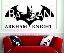 BATMAN Arkham Knight Game Superhero Brand Decorative Vinyl Wall Sticker Art