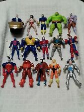 Lot Of Xmen Marvel Toys 15 Action Figures Toybiz Retro Classic 90s