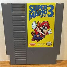Super Mario Bros 3 Nintendo NES Game Cartridge Cleaned Tested Guaranteed 60 Days