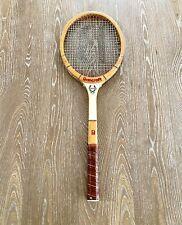 Bancroft Winner Junior Vintage Wood Tennis Racquet 4-1/2 Grip