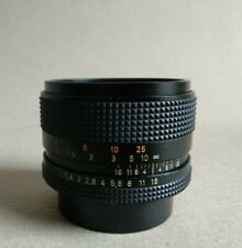 CARL ZEISS PLANAR Red rotes  T 1:1,4 50mm lens Objektiv Contax Yashica
