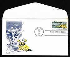 #1367 6c Beautification of America -Poppies and Lupines- Jackson/Chickering FDC