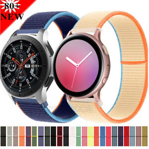 Wrist Band For Galaxy Watch 3 45mm 46mm Sport Loop Nylon Strap Bracelet Belt