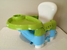 Safety 1st High Chair Booster Seat Baby Feeding Seat with Tray Blue Green