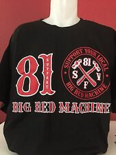 Hells Angels Support Big Red Machine 81 Cross Hammer
