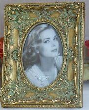 Bilderrahmen Antik Fotorahmen Barock Rahmen Prunkrahmen Blumen gold Jugendstil