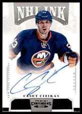 2013-14 PANINI CONTENDERS NHL INK CASEY CIZICAS AUTO NEW YORK ISLANDERS #I-CCI