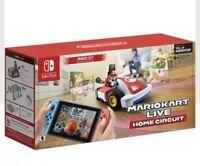 Nintendo Switch Mario Kart Live: Home Circuit Mario Set Brand New Fast Ship!!