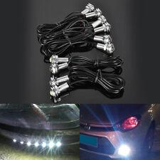 10x 18mm 9W White LED Eagle Eye Fog Light DRL Reverse Turn Signal Bulbs 12-24V