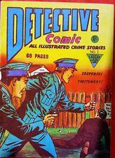DETECTIVE COMIC 1 L MILLER SILVER AGE 1959 PREMIER ISSUE Scarce VF