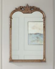French Ornate Jacqueline Arched Wall Mirror Mantle Vanity Bath Uttermost 14018