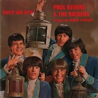 PAUL REVERE & THE RAIDERS 1967 HERE WE ARE TOUR CONCERT PROGRAM BOOK / EX 2 NMT