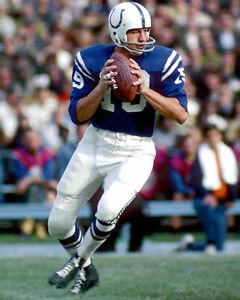 Baltimore Colts JOHNNY UNITAS Glossy 8x10 Photo NFL Football Print Poster