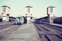 New York Central Railroad Train Station Depot SPRINGFIELD MA 1967 Photo Slide