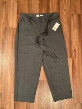 A New Day Grey Size 10 Lounge Pants w Belt NWT