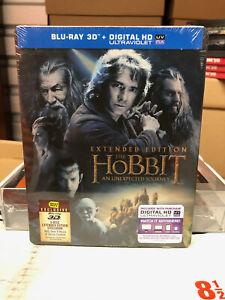 The Hobbit: An Unexpected Journey (Blu-ray) NEW OOP Best Buy STEELBOOK *MINT*