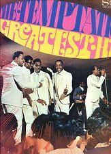 THE TEMPTATIONS greatest hits HOLLAND 1967 TAMLA MOTOWN EX LP SOUL