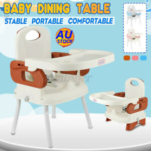 AU Baby High Chair Travel Dining Child Eating Feeding Toddler Highchair Booster